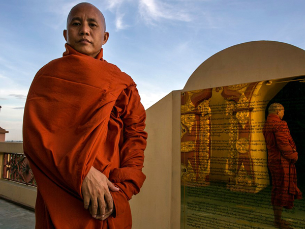 Biksu Ashin Wirathu Sebut Muslim Rohingya Musuh Negara Myanmar