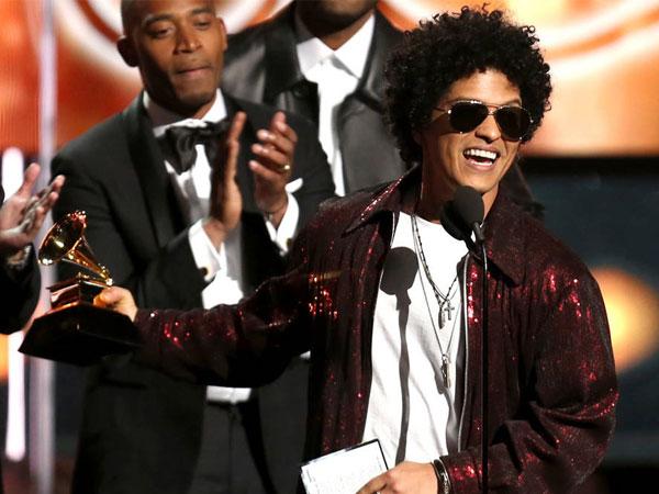 Bruno Mars Menang Besar, Berikut Daftar Lengkap Grammy Awards 2018!