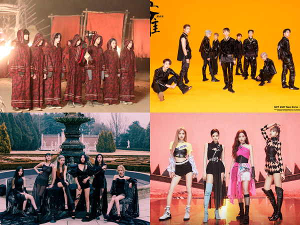 Tak Ada Album Baru, Sederet Grup K-Pop Ini Masih Bertahan di Chart Billboard World Albums