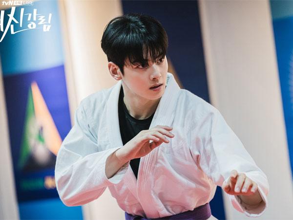 Kerennya Aksi Jiu-Jitsu Cha Eunwoo di Drama 'True Beauty'