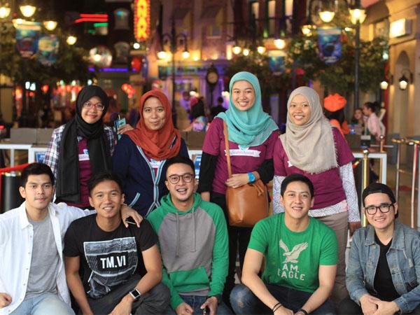 Intip Keseruan Hangout 5Romeo Bersama Genk Sisterhood