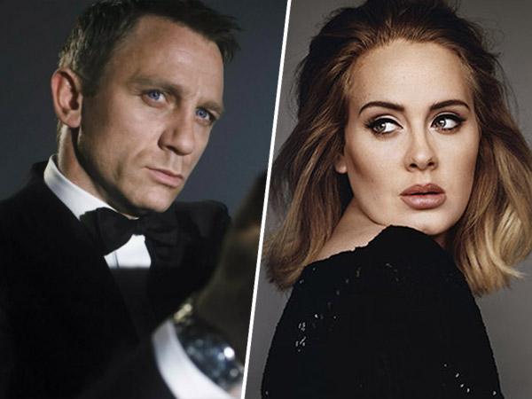 Daniel Craig 'Diamankan' Jadi James Bond, Bakal Gaet Adele Lagi untuk Isi Soundtrack?