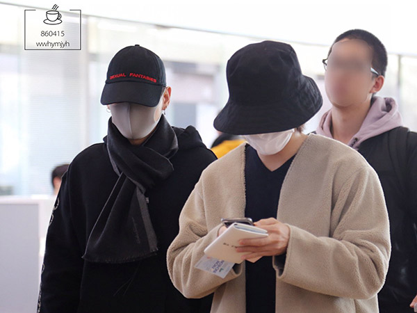 Donghae dan Eunhyuk Super Junior Tampil Tertutup Saat Berangkat ke Jakarta