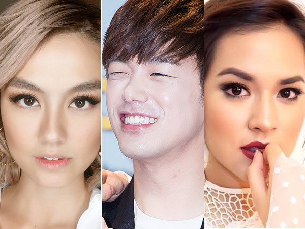 Bikin Heboh, Eric Nam Tertangkap Follow Instagram Agnes Monica dan Raisa!