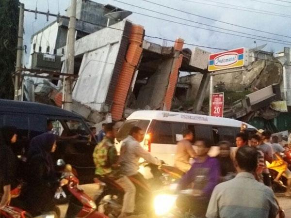 Begini Detik-detik Kepanikan Warga Saat Gempa 6,4 SR Mengguncang Aceh