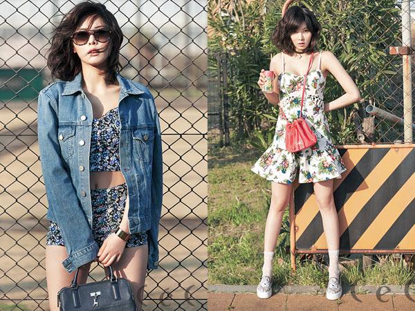Bedah Fashion Photoshoot: HyunA 4Minute - Ceci Magazine Mei 2014