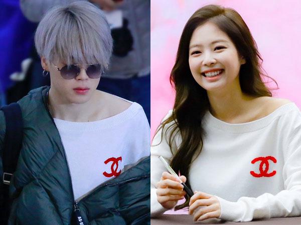 Sweater Chanel Kembar Jimin BTS vs Jennie BLACKPINK, Who Wore it Better?