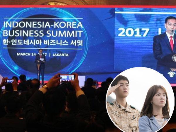 Presiden Jokowi Buka Event 'Indonesia-Korea Business Summit 2017' dengan Kutipan Drama 'Descendants of the Sun'