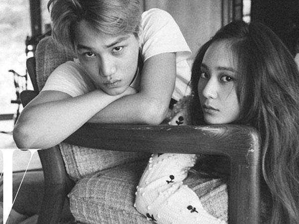 Gambar CCTV Kai EXO dan Krystal F(x) Terungkap, Fans Hentikan Rumor Miring