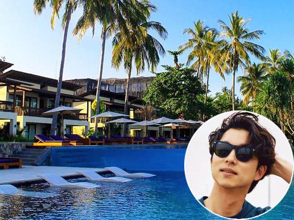 Intip Resort Mewah nan Eksotis Tempat Menginap Gong Yoo Selama di Lombok!