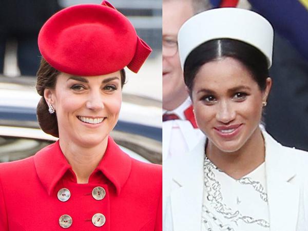 Bantah Gosip Bermusuhan, Kate Middleton dan Meghan Markle Akrab di Pertemuan Terbaru