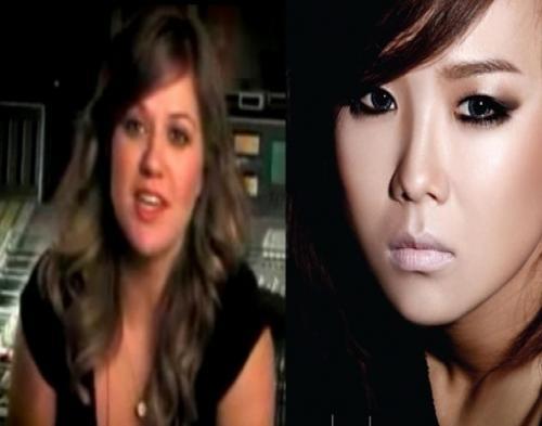 Kim Bo Kyung Terima Pesan dari Kelly Clarkson
