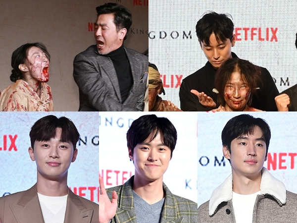 Bertabur Bintang dan Zombie, Begini Keseruan VIP Premiere Drama Netflix 'Kingdom'