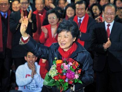 Park Geun-hye Terpilih Sebagai Presiden Wanita Pertama Korea Selatan