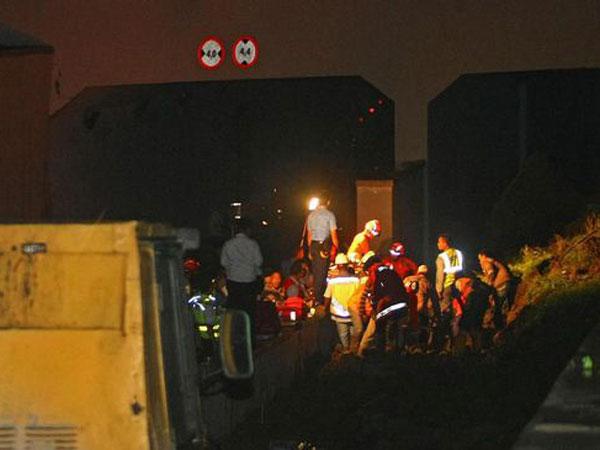 Kondisi Korban Longsor Bandara Sebelum Meninggal yang Sempat Berhasil Dievakuasi