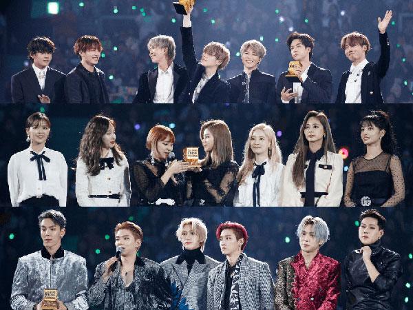 BTS Raih Semua Daesang, Inilah Pemenang MAMA 2019