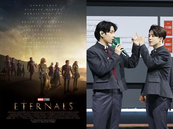 Lagu Unit Jimin dan V BTS Jadi Soundtrack Film Marvel 'Eternals'