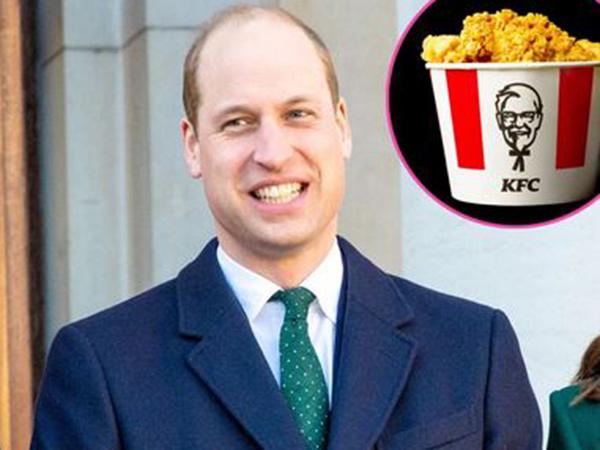 Tingkah Lucu Pangeran William Intip Gerai KFC Jadi Meme Viral