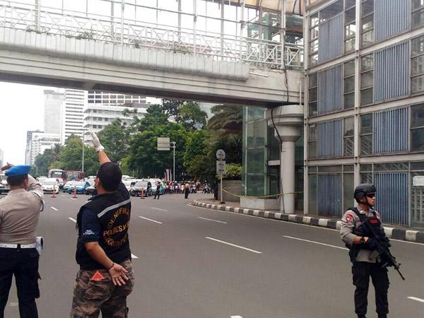 Penemuan Tas Diduga Berisi Bom, Lalu Lintas di Jalan Thamrin Sempat Ditutup