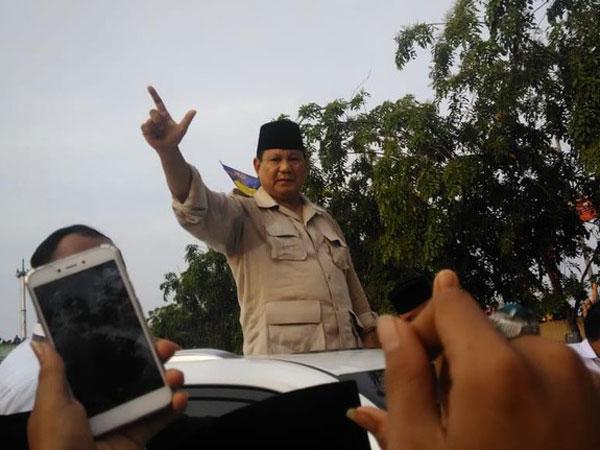 Pernyataan Prabowo Soal Air Laut Bisa Sampai Bundaran HI Dibenarkan oleh Menteri PUPR?