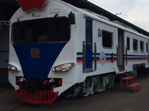 PT KAI Segera Luncurkan 'Rail Clinic', Kereta Pelayanan Kesehatan