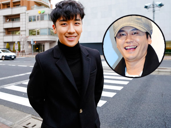 Buat Kelucuan Lagi, Seungri Big Bang Tirukan Gaya YG saat Pidato di 'Gaon Chart K-Pop Awards'