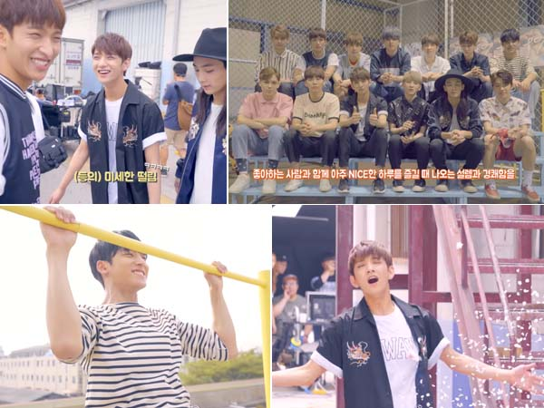 Seventeen Bocorkan Keseruan dan Kelucuan Dibalik Layar Pembuatan MV 'Very Nice'