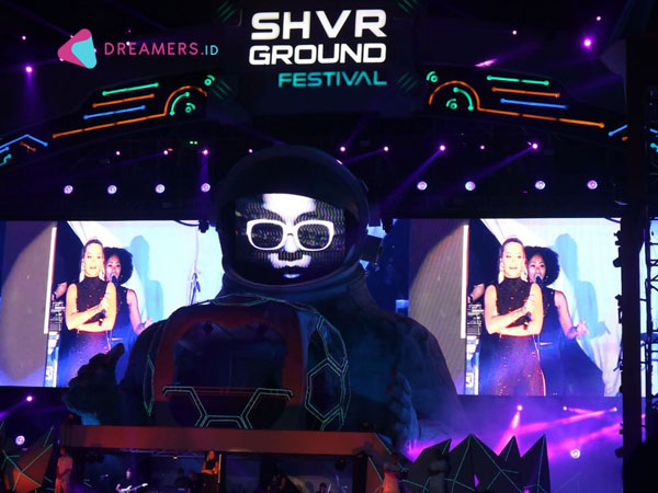 Intip Lagi Kehebohan Musisi EDM Dunia di 'SHVR Ground Festival 2018'!