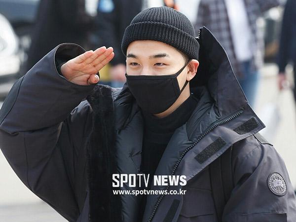 Selamat Bertugas, Taeyang Resmi Masuk Wajib Militer!