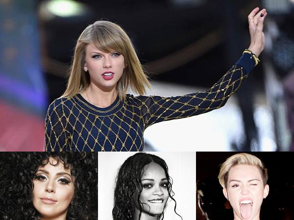 Taylor Swift Sindir Rihanna, Lady Gaga dan Miley Cyrus di Majalah TIME?