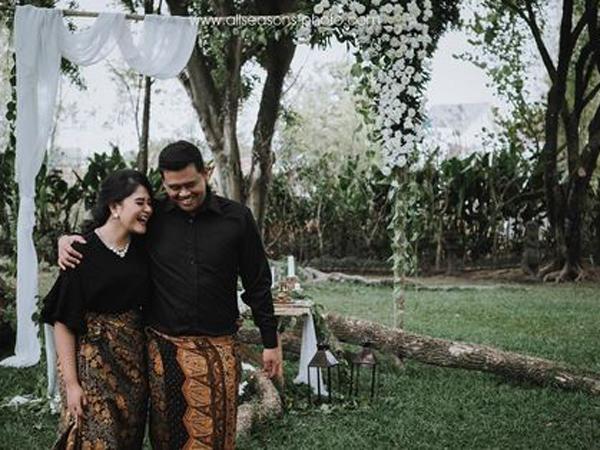 Potret Prewedding Kahiyang Ayu dari Bali hingga Candi Borobudur