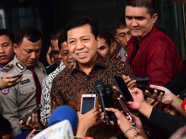 KPK Belum Izin Presiden, Setya Novanto Kembali Mangkir dari Pemeriksaan
