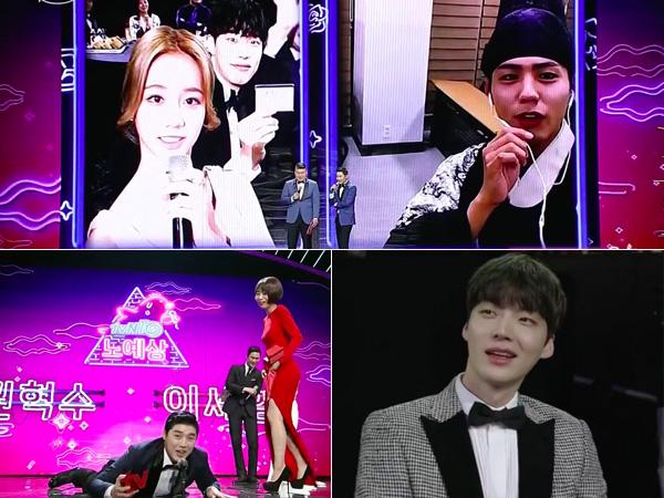 Ahn Jae Hyun-Goo Hye Sun Hingga Interaksi 'Reply', Simak 5 Momen Seru di 'tvN10 Awards'