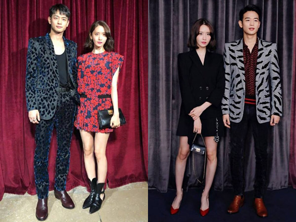 Gaya Chic Duo Visual YoonA SNSD & Minho SHINee Jadi Pusat Perhatian di Paris Fashion Week