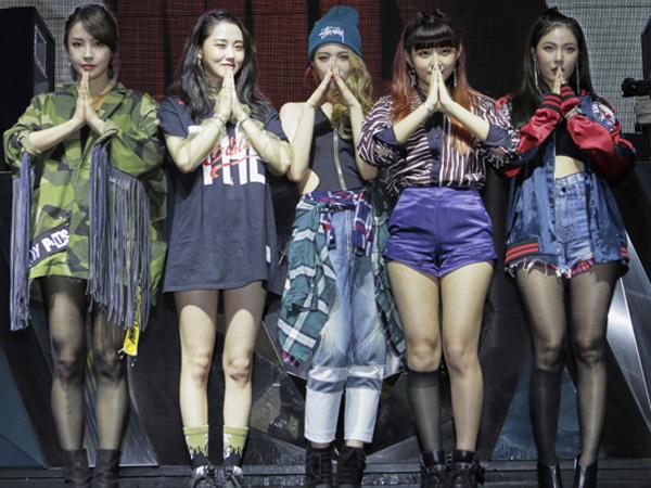 Ini yang akan Dilakukan 4Minute Jika Berhasil Raih Trofi Kemenangan di Program Musik