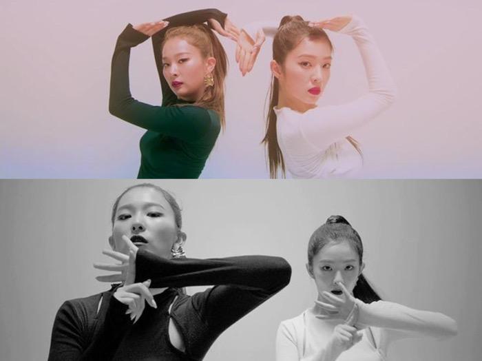 Rilis MV Lagu 'Naugthy', Irene dan Seulgi Tuai Pujian Publik