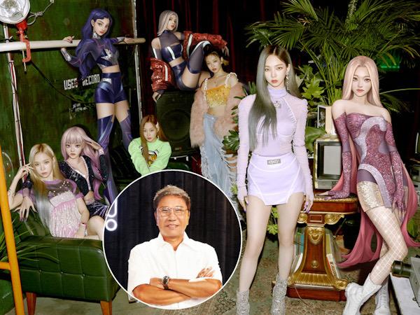 Lee Soo Man Berencana Produksi Film Hollywood dari Dunia aespa
