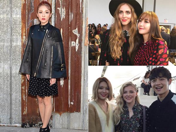Para Seleb Korea Ini Eksis Bareng Para Bintang Hollywood di New York Fashion Week