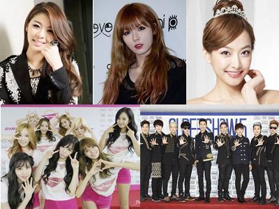 Super Junior, SNSD, HyunA, dan Idola K-Pop Lainnya Ikut Masuk Nominasi World Music Awards!