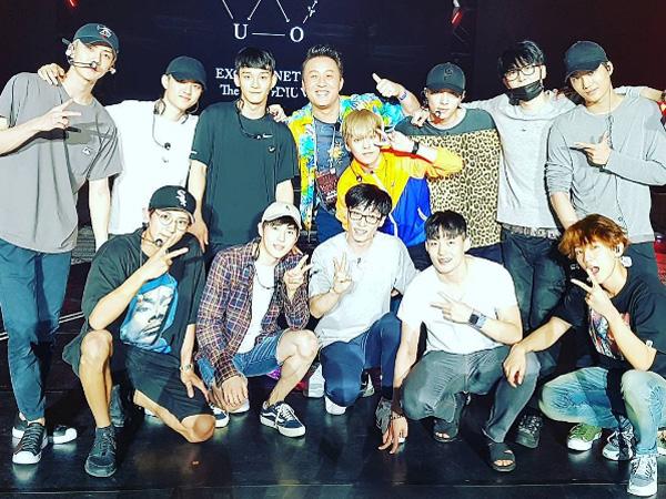 Sukses Berkolaborasi di Konser Tur Dunia EXO, Yoo Jae Suk Jadi Trending Topic Dunia!