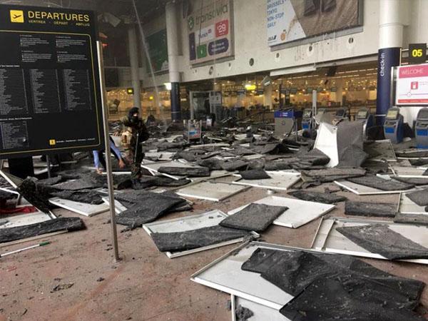 Dua Ledakan Terjadi di Bandara Brussel, 11 Orang Tewas dan Puluhan Lainnya Terluka