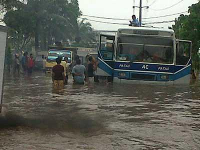 Inilah Beberapa Titik Banjir di Jakarta