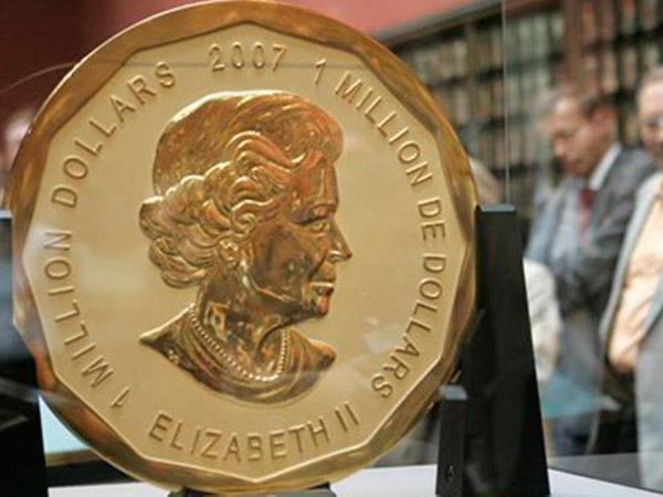 Dilindungi Kaca Anti Peluru, Koin Emas Raksasa Senilai Rp 53 Miliar Dicuri dari Museum