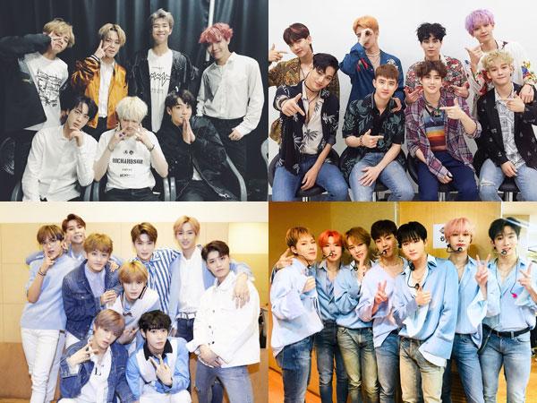 Sejarah Baru Tercatat! 6 Boy Group K-Pop Puncaki Chart Billboard Social 50