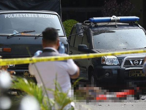 Tak Ada yang Sangka Karena Pakai Jaket Ojol, Pelaku Bom Bunuh Diri Pura-pura Perlu Ini di Polrestabes Medan