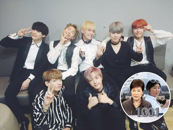 Tampilkan Lagu 'Am I Wrong', BTS dan MBC Sindir Halus Skandal Presiden Korsel?