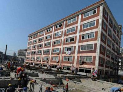 Wow, China Berhasil Pindahkan Gedung Berlantai Enam