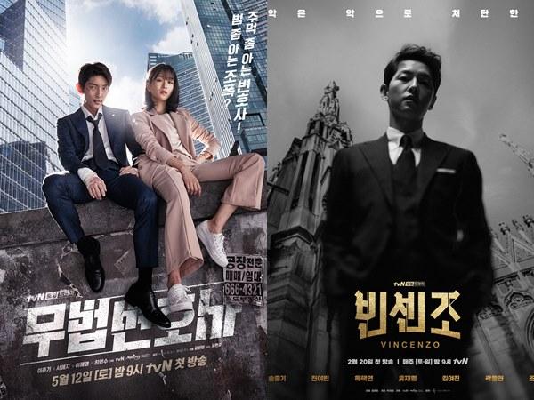 Rekomendasi 5 Drama Korea Populer dengan Karakter Utama Pengacara