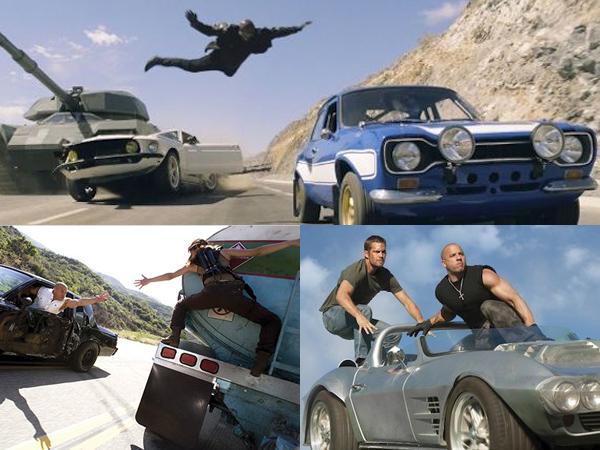 Yuk Flashback Adegan Action Terdahsyat Di 'Fast & Furious!'