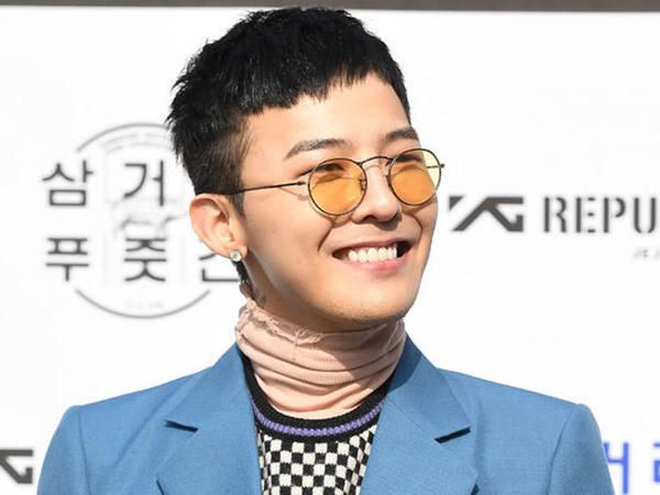 G-Dragon Resmi Buka Kafe Pribadi Jelang Wamil, Gaya Rambut Barunya Kece!